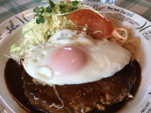 六甲アイランド ランチ 井上さんの手造り メニュー 洋食 定食 ハンバーグ