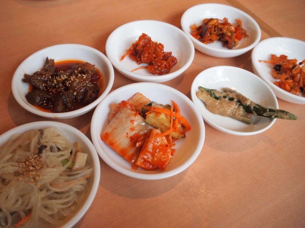 嘉門 芦屋コリアン亭 ランチ メニュー 値段 韓国料理 ナムル キムチ 惣菜