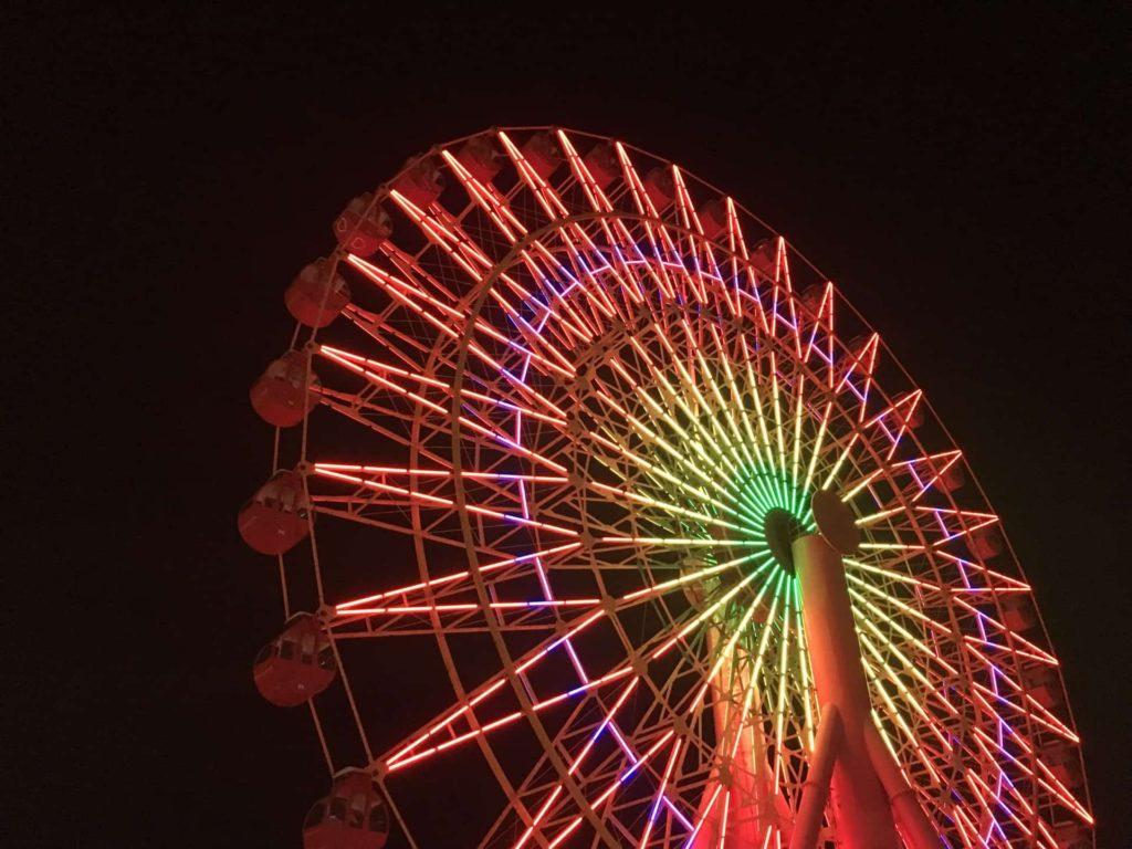 神戸 フォトジェニック 写真撮影 スポット おしゃれ インスタ映え mosaic モザイク 観覧車