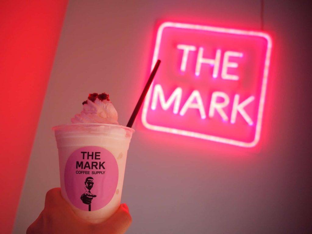 THE MARK COFFEE SUPPLY 神戸 三宮 カフェ フォトジェニック インスタ映え