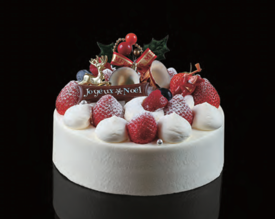 ホテルピエナ神戸 ルシオル クリスマスケーキ 2017年