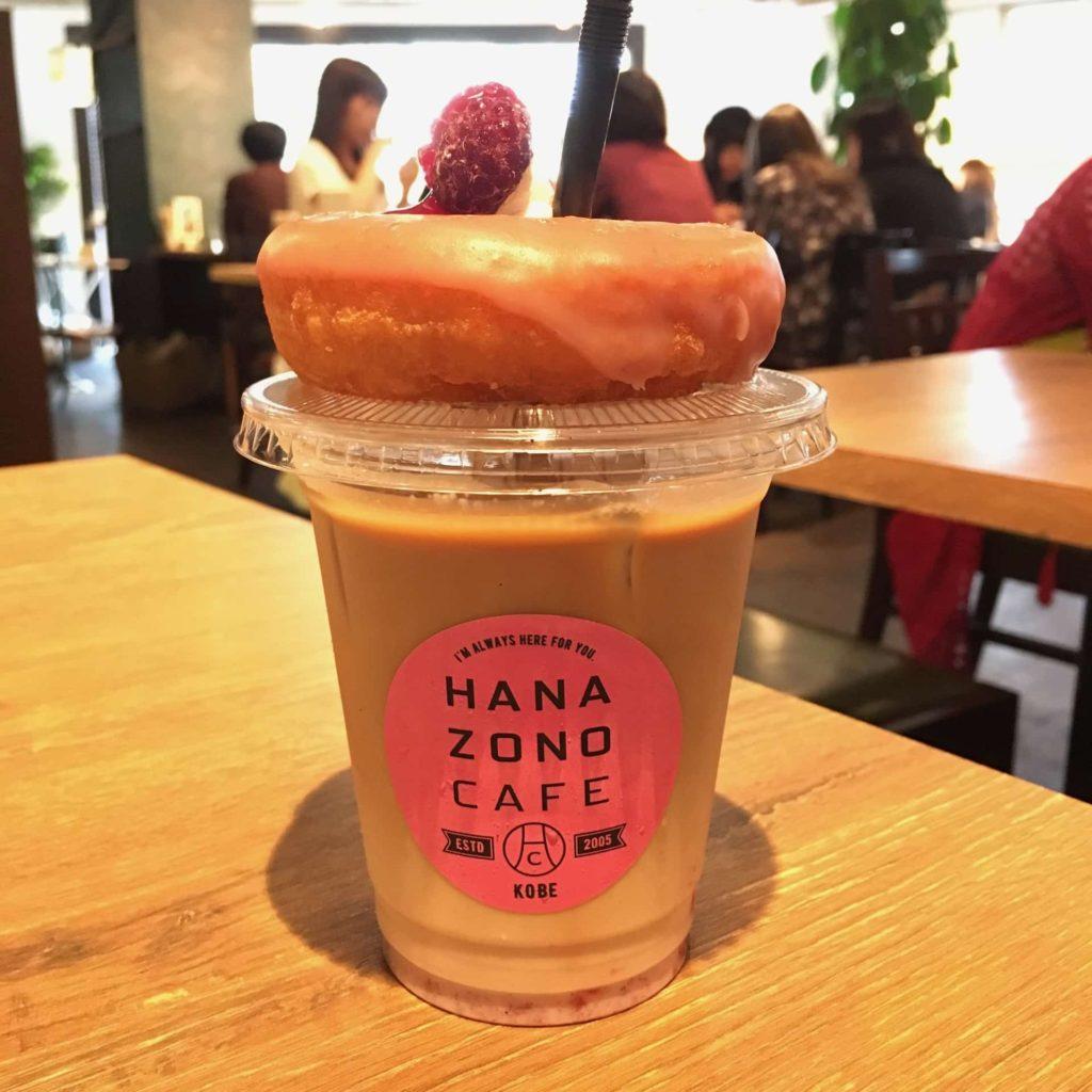 HANAZONO CAFE ハナゾノカフェ ミミラテドーナツ 三宮 神戸 カフェ