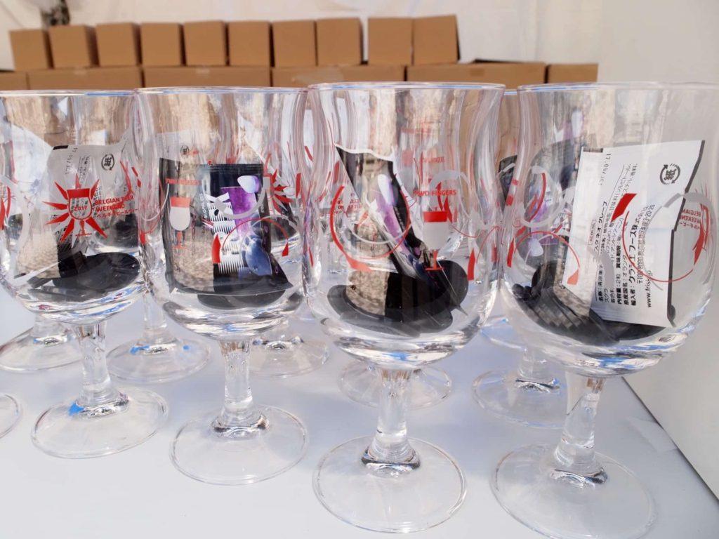 ベルギービールウィークエンド 2017 神戸 メリケンパーク コイン グラス システム