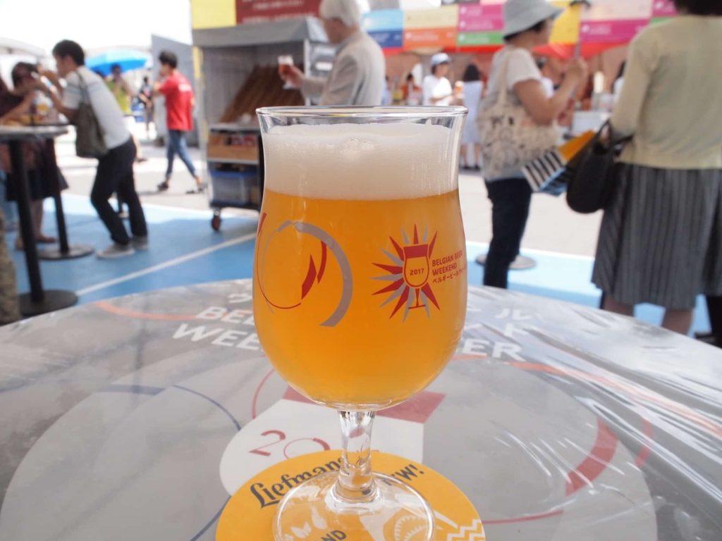 ベルギービールウィークエンド 2017 神戸 種類 リーフマンス・イエロー