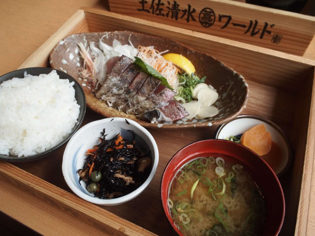 土佐清水ワールド 三宮磯上通店 神戸 ランチ メニュー
