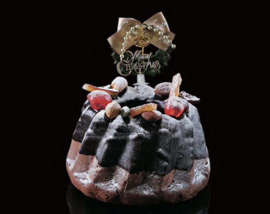 ホテルピエナ神戸 ルシオル クリスマスケーキ 2017年 ガトーショコラ