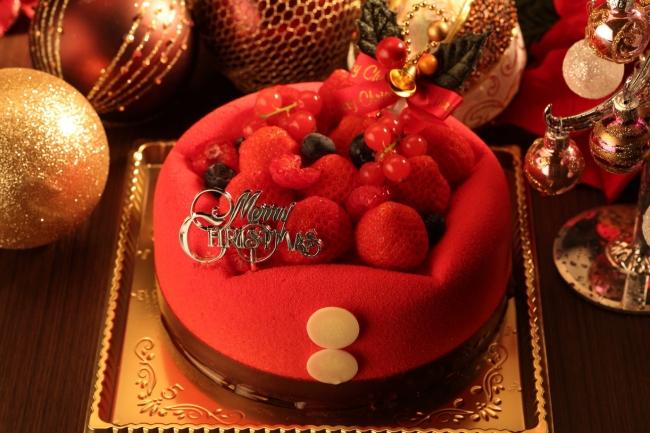 ホテル ラ・スイート神戸ハーバーランド クリスマスケーキ 2017年 ショートケーキ