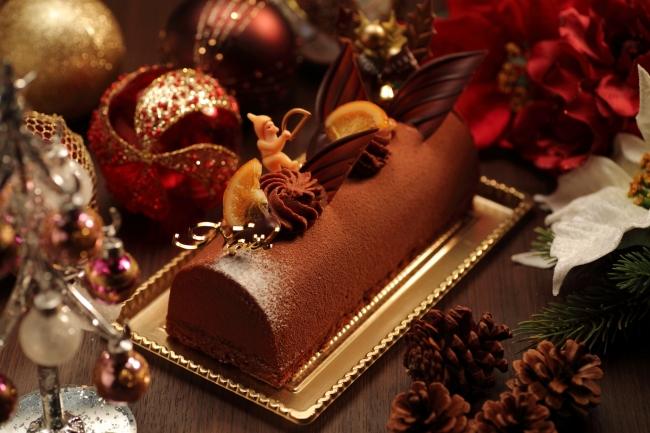 ホテル ラ・スイート神戸ハーバーランド クリスマスケーキ 2017年 ブッシュドノエル