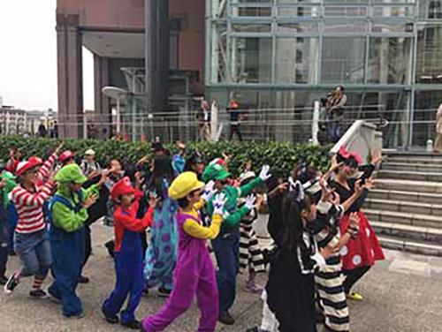 神戸 ハーバーランド ハロウィン ハロウィーン イベント 2017年 仮装パレード