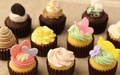 神戸 umie ウミエ ハーバーランド JiJi cupcakes KOBE カップケーキ 元町 ジジカップケーキ イオンスタイル