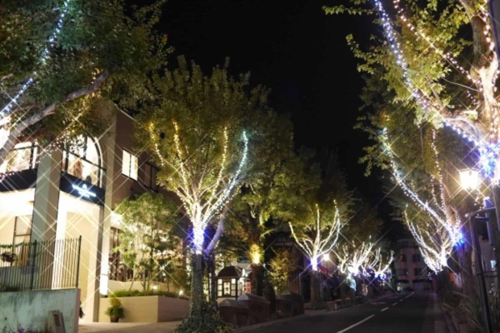 北野クリスマスストリート2018 イルミネーション 神戸 2018年 開催期間 時間 場所
