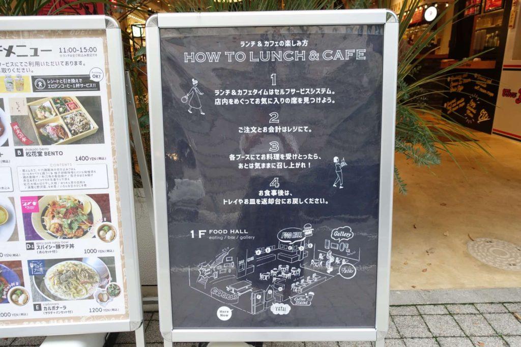 ニューラフレア 神戸 三宮 元町 ランチ セルフサービス オーダー方法