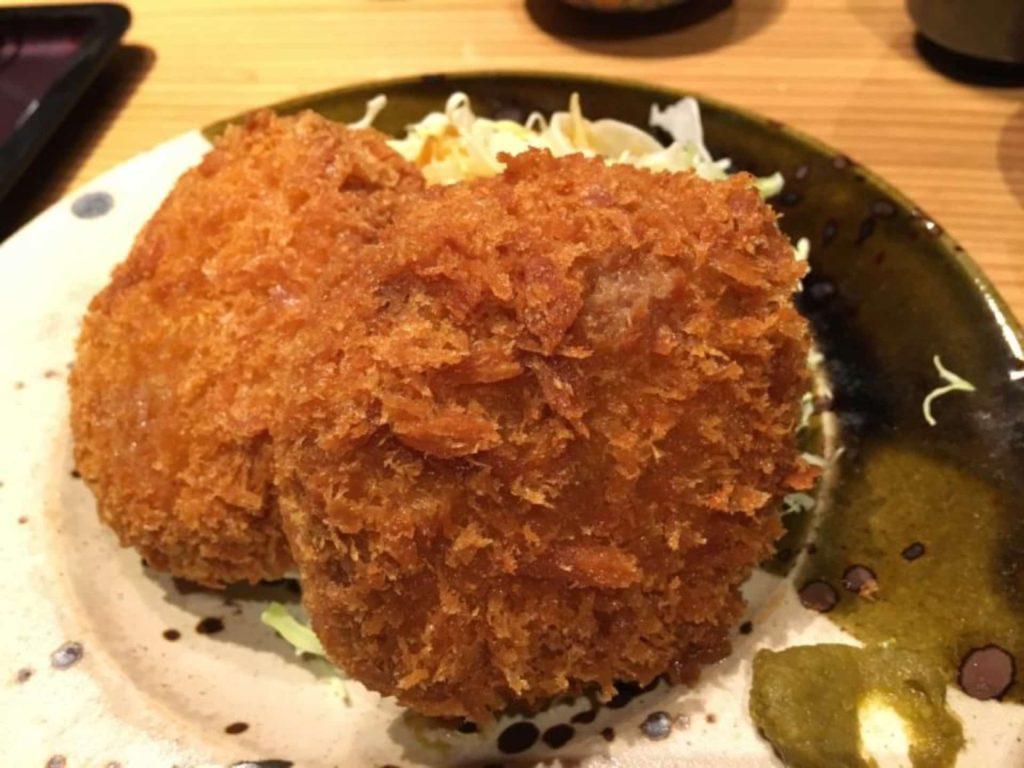 神戸 三宮 やまや ランチ メンチカツ定食 明太子食べ放題 メニュー
