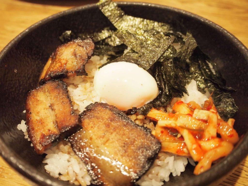 らぁめんたろう ラーメン 太郎 焼豚丼