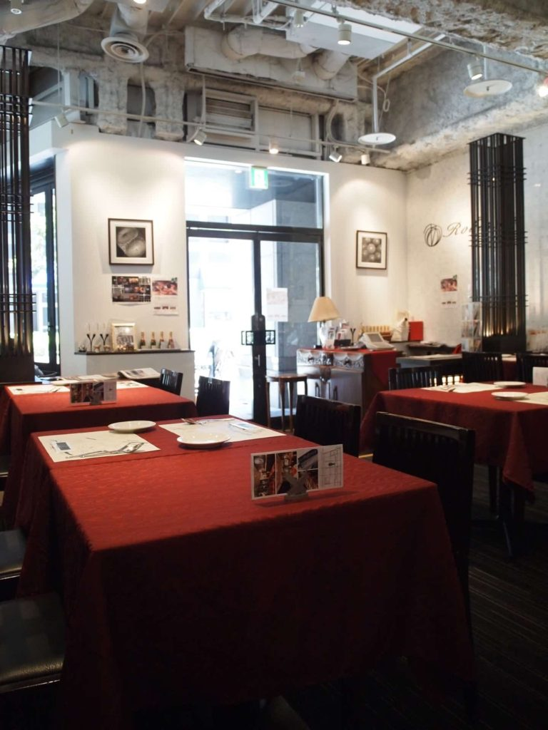 神戸 ロビンソン 三宮 ランチ パン食べ放題 バイキング ビュッフェ 店内