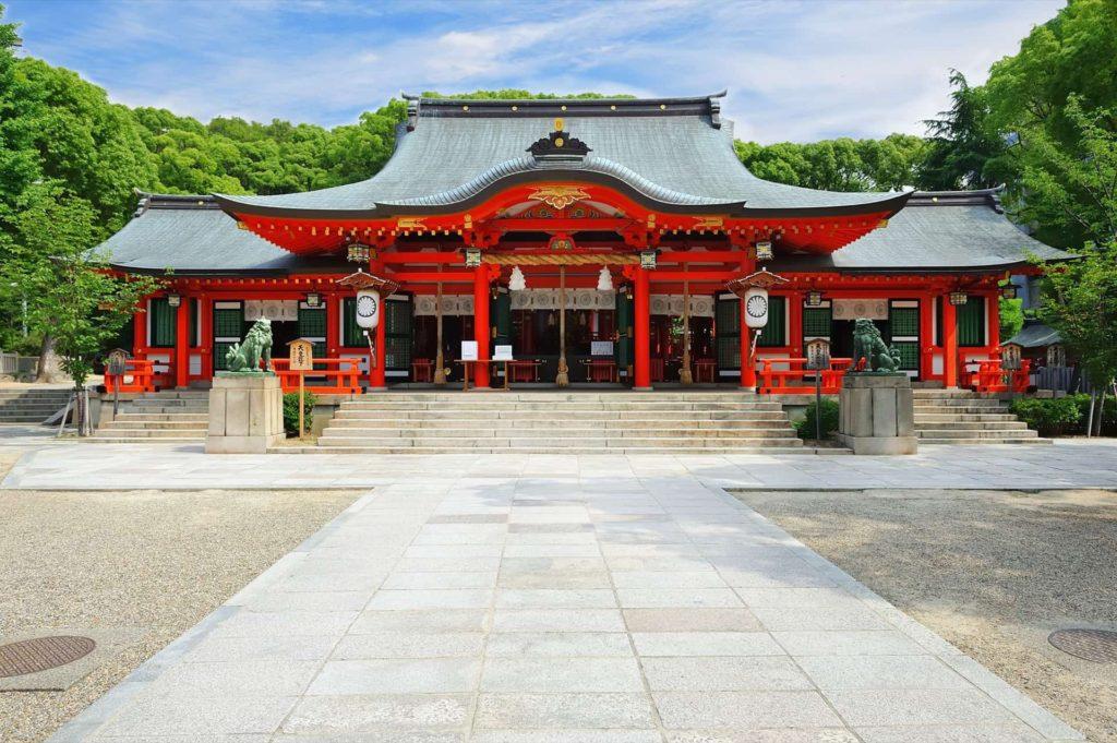 初詣 神戸 生田神社 縁結び