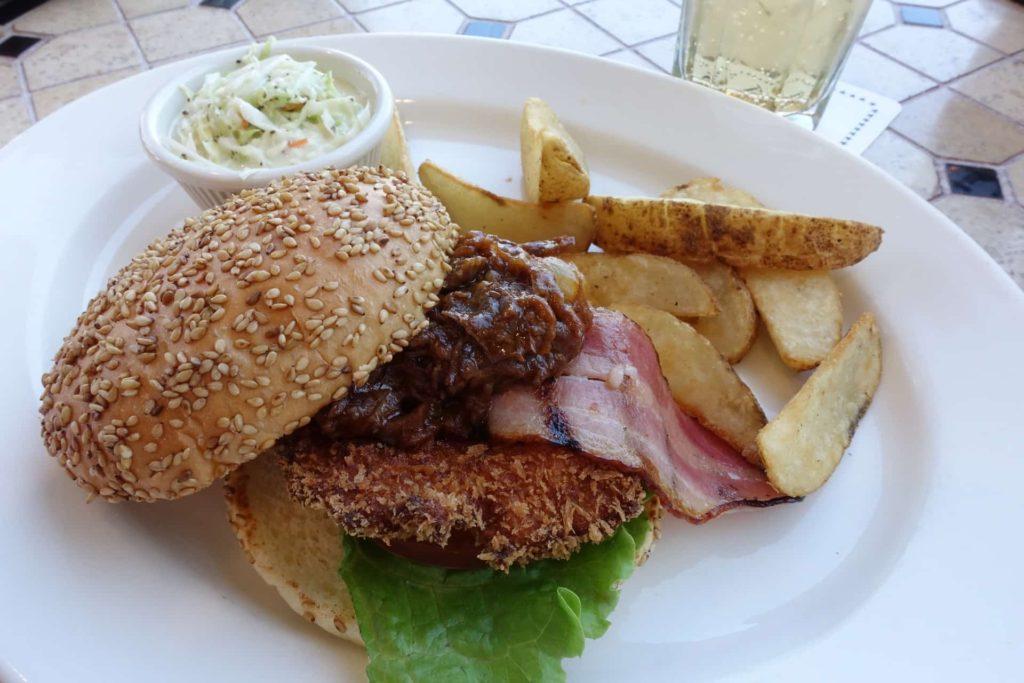 トニーローマ 神戸ハーバーランド店 umie ウミエ モザイク ランチ ハンバーガー