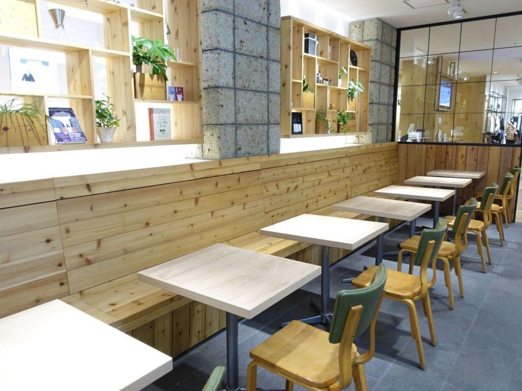 green bar グリーンバー 三宮 カフェ 店内