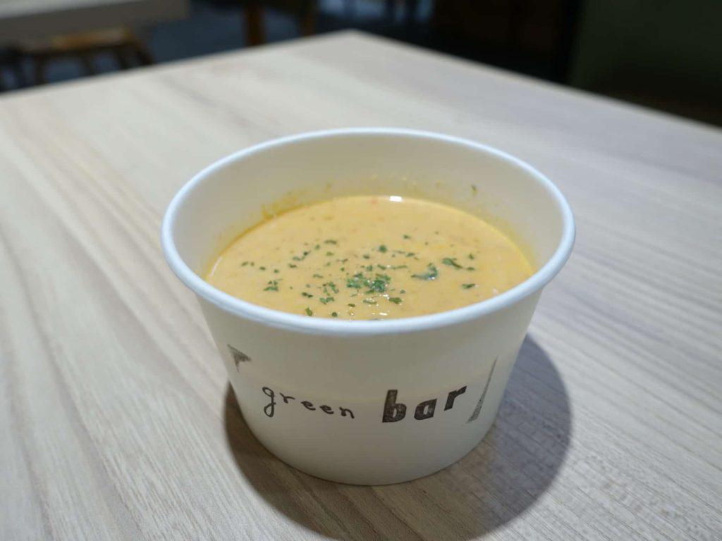 green bar グリーンバー 三宮 メニュー カフェ ランチ スープ