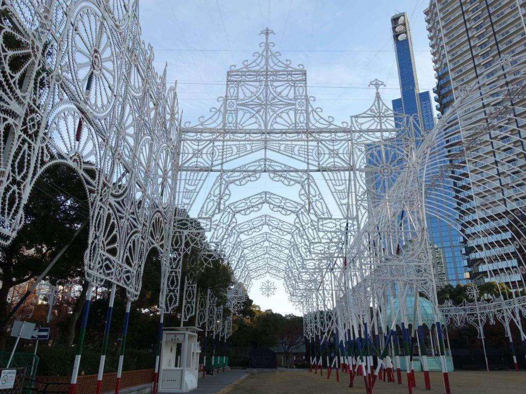 神戸ルミナリエ 2017 東遊園地