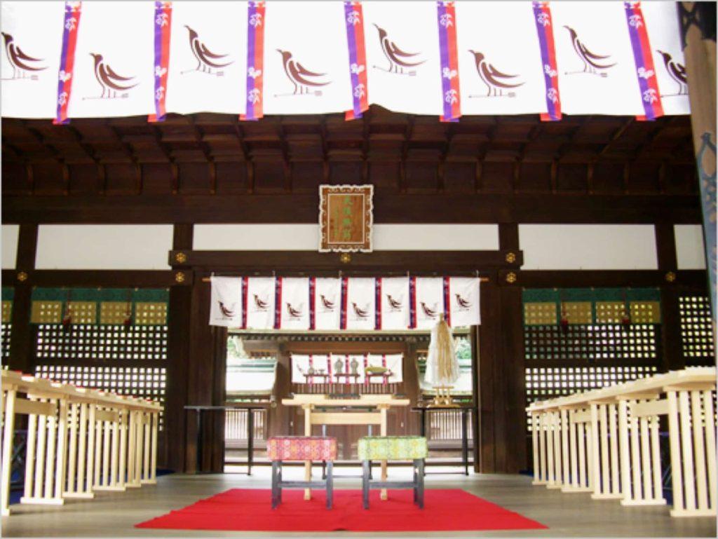 初詣 神戸 弓弦羽神社 ゆづるは 2020