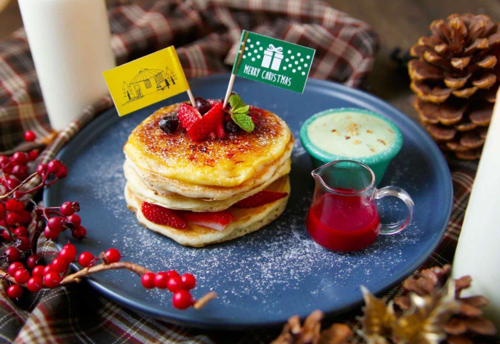 YURT ユルト 神戸 三宮 カフェ クリスマス パンケーキ スイーツ