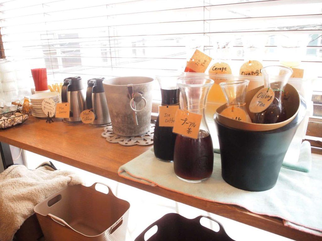 HANAZONO CAFE ハナゾノカフェ 神戸 ランチ ドリンクバー 飲み放題