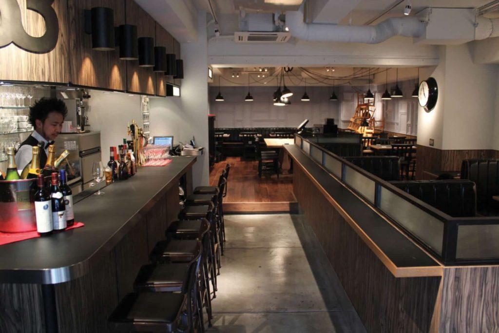 Bar&Bistro 63 バーアンドビストロロクサン アクセス 行き方