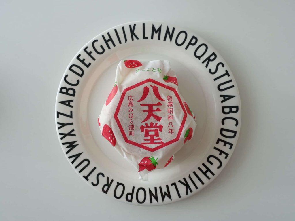 八天堂 三宮店 JR三ノ宮店 くりーむパン クリームパン 値段 メニュー まるごと苺の入ったくりーむパン