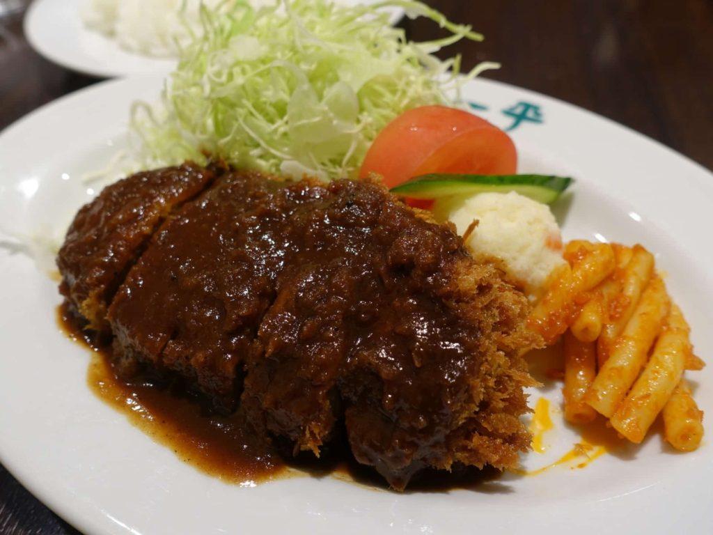 グリル一平 三宮 神戸 洋食 ランチ メニュー ヘレビーフカツレツ ビフカツ
