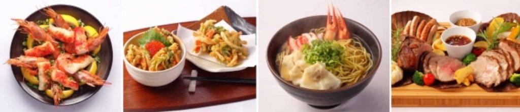 神戸メリケンパークオリエンタルホテル サンタモニカの風 カニ 蟹 かに食べ放題 バイキング ビュッフェ ブッフェ メニュー