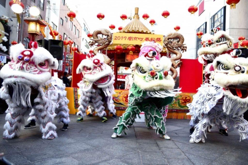 神戸 南京町 春節祭 2018年 開催日 イベント 中華街 獅子舞