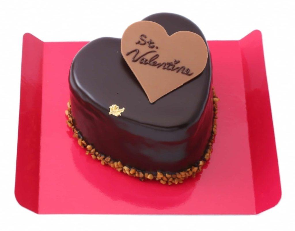 アンテノール バレンタイン 2018 チョコレート ケーキ メッセージ プレート