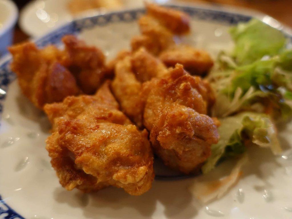 旬菜Dining たんぽぽ亭 六甲アイランド 中華料理 ランチ 鶏 唐揚げ定食