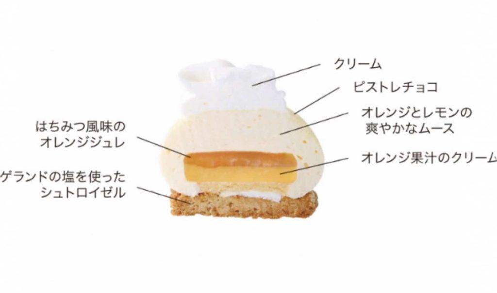 アンテノール 神戸 季節限定 ケーキ オランジェ シトロン はちみつの風味