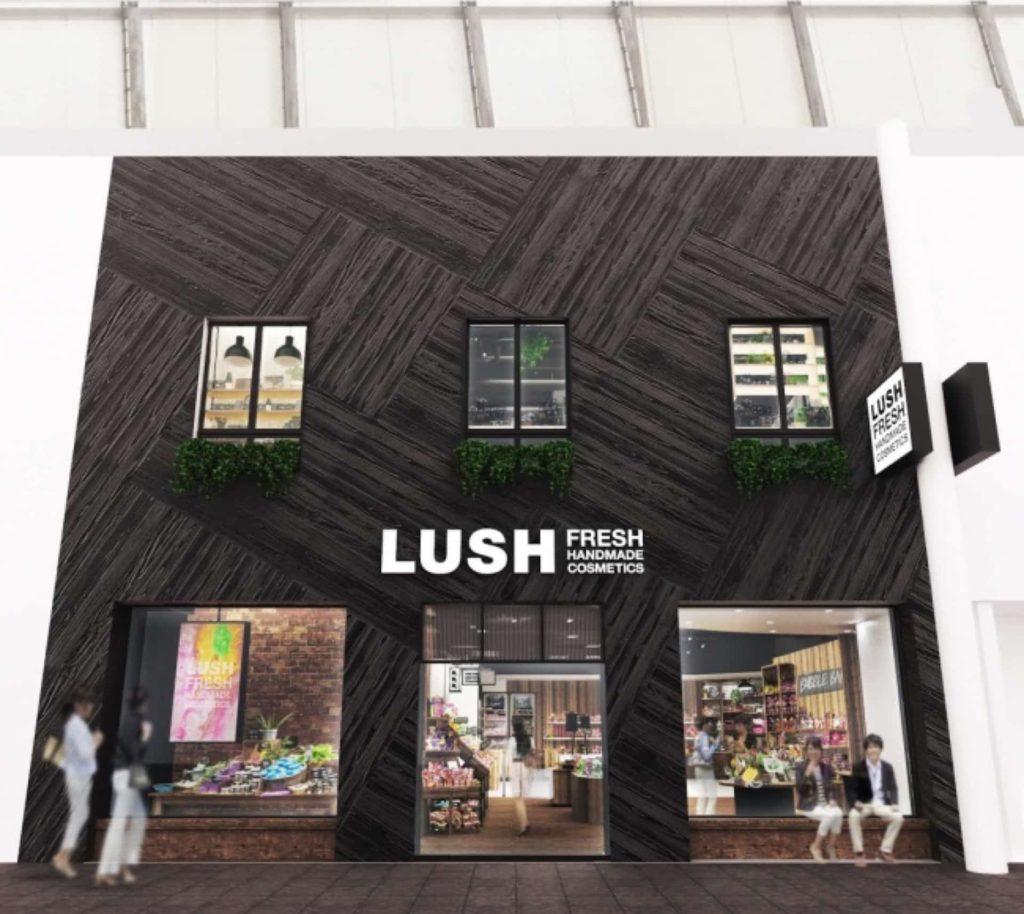 LUSH 神戸三宮店 オープン 神戸 三宮 2018