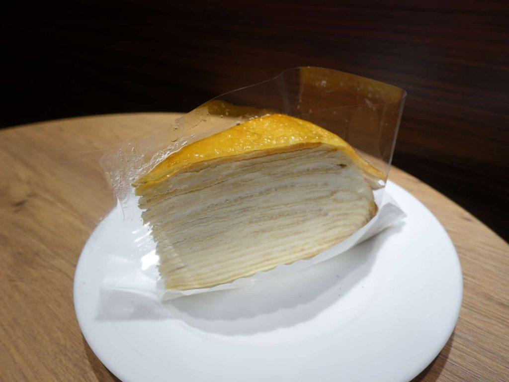 神戸 三宮 元町 カフェ エクセルシオールカフェ 神戸元町店 メニュー ケーキセット ミルクレープ スイーツ
