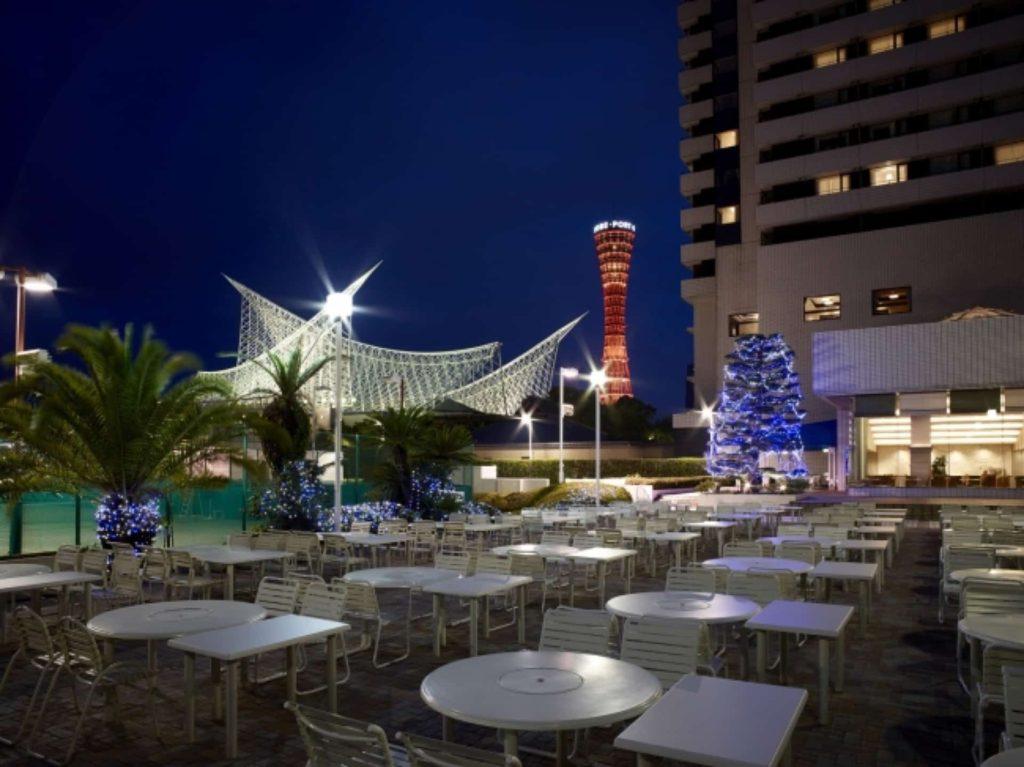 2018 ビアガーデン 神戸 三宮 元町 ホテルオークラ神戸 バーベキュー 女子会