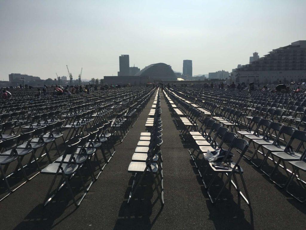 みなとこうべ海上花火大会 2018 有料席 場所 口コミ 感想 神戸 花火大会