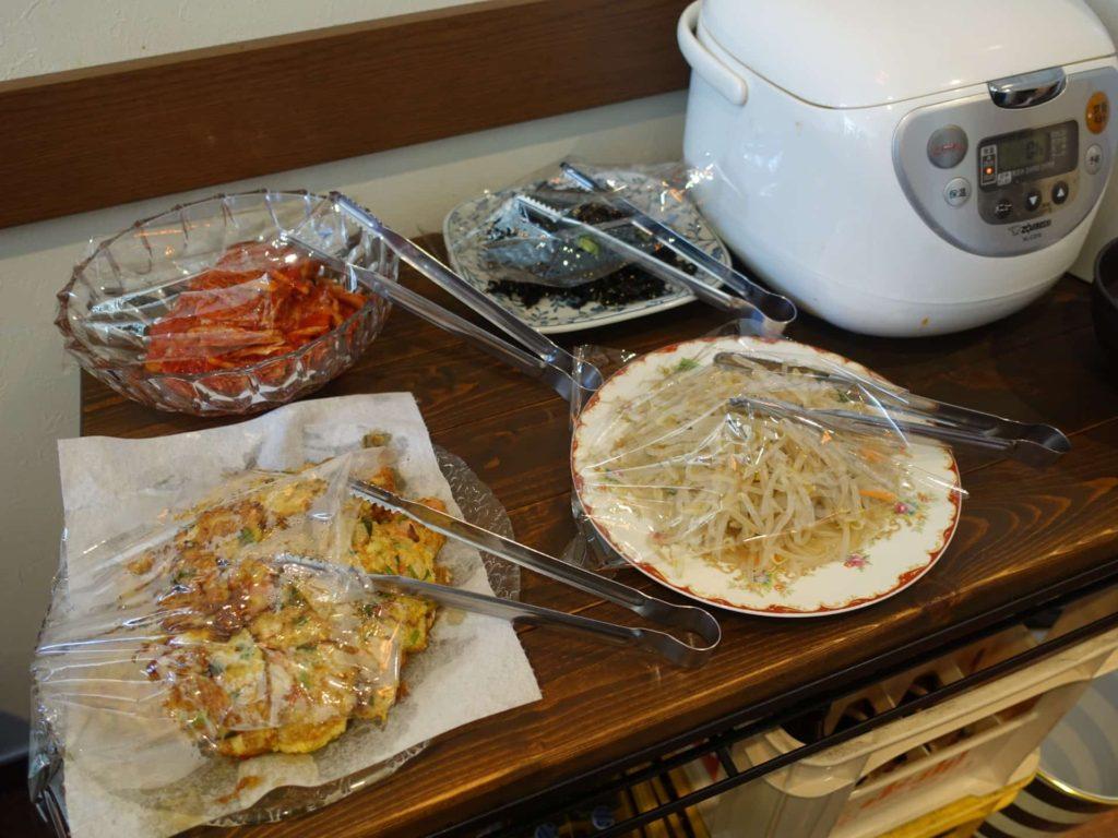 韓国料理 神戸 三宮 元町 omoni オモニ トアロード ランチ 食べ放題