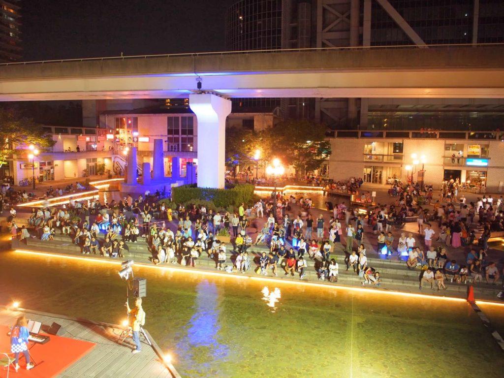 六甲アイランド イベント 夏祭り 2018 六アイ RICサマーイブニングカーニバル いつ 8月 神戸