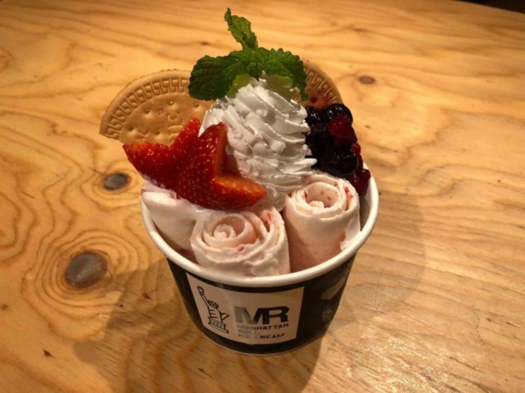マンハッタンロールアイスクリーム マンハッタンロールアイス 神戸 三宮 マンハッタンロールアイスクリーム神戸三宮店 オープン 2018 9月 29日
