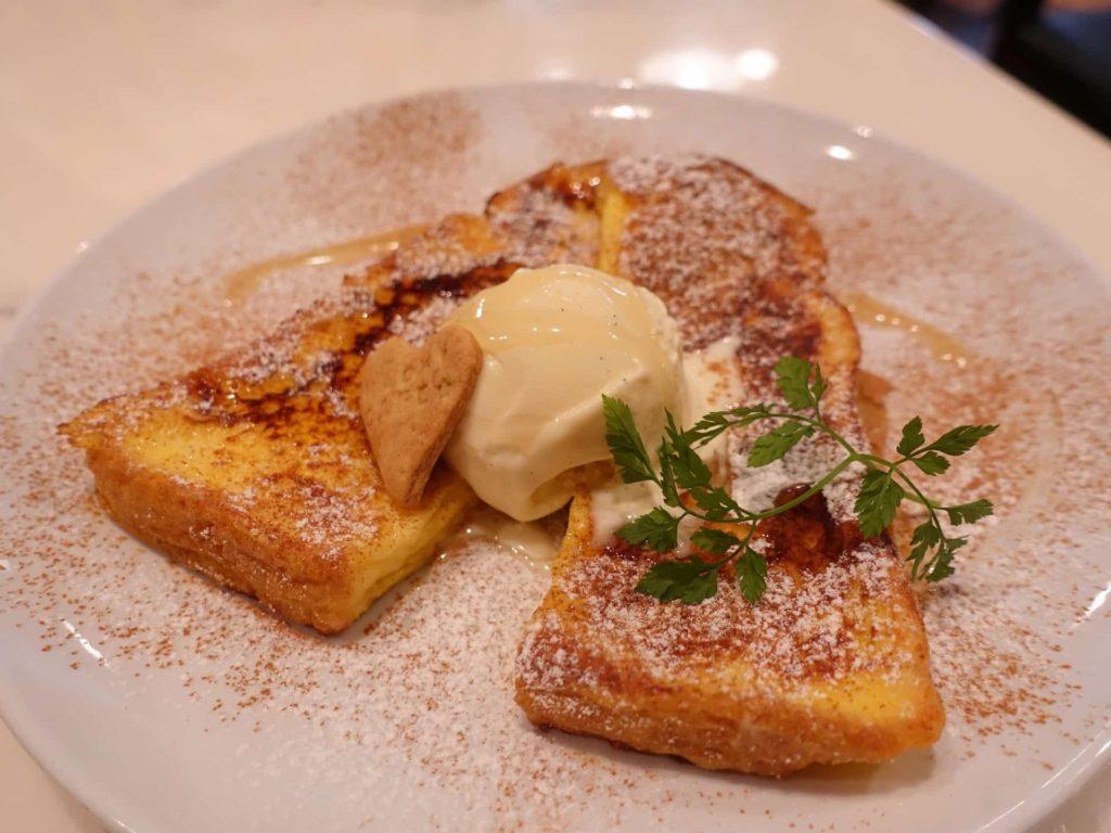 Hachi Cafe −KOBE− ハチカフェ 神戸 三宮 フレンチトースト スイーツ