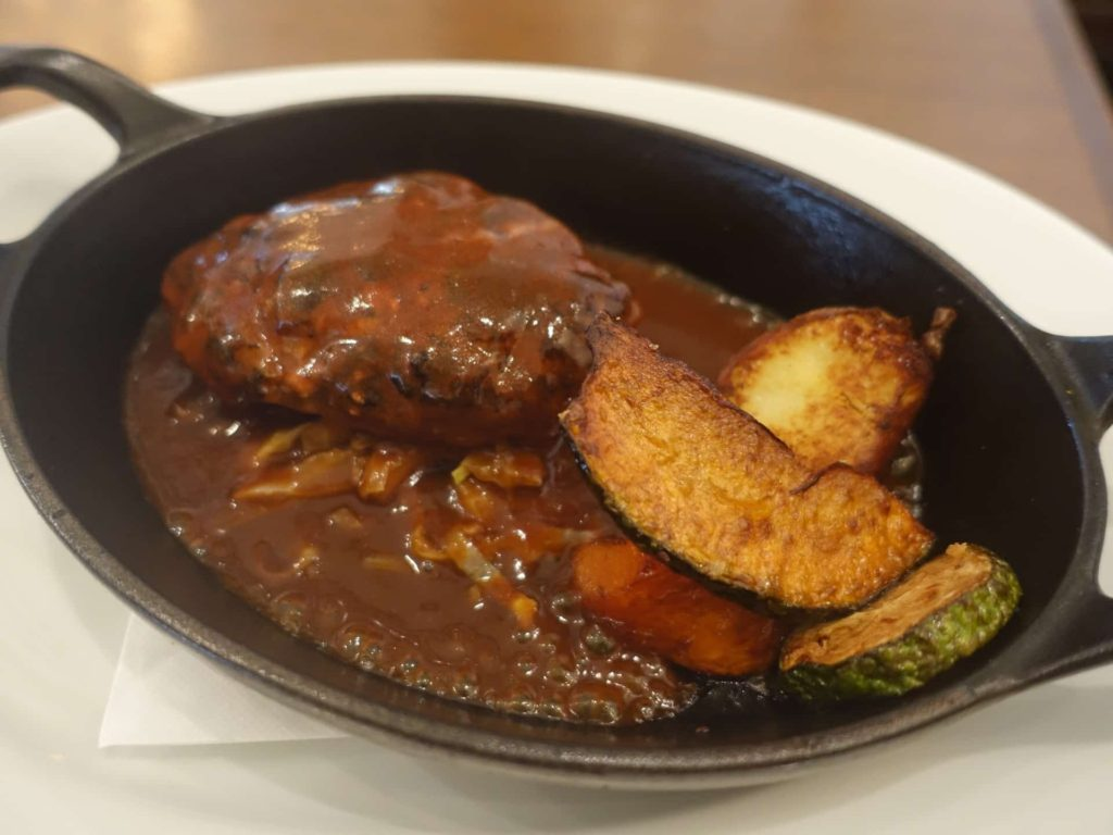 神戸デュシャン ランチ メニュー 値段 定食 ハンバーグ