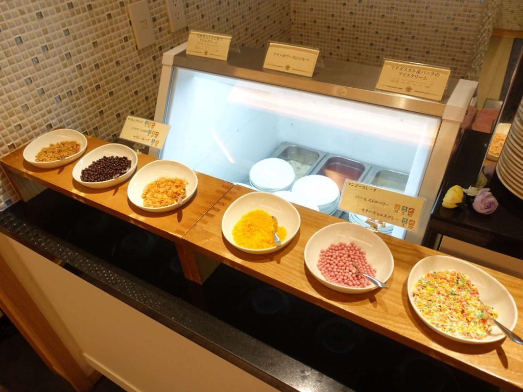 神戸 みなと温泉 蓮 万蓮 夕食 バイキング 食べ放題 ビュッフェ 食事 神戸みなと温泉蓮 レストラン アイス