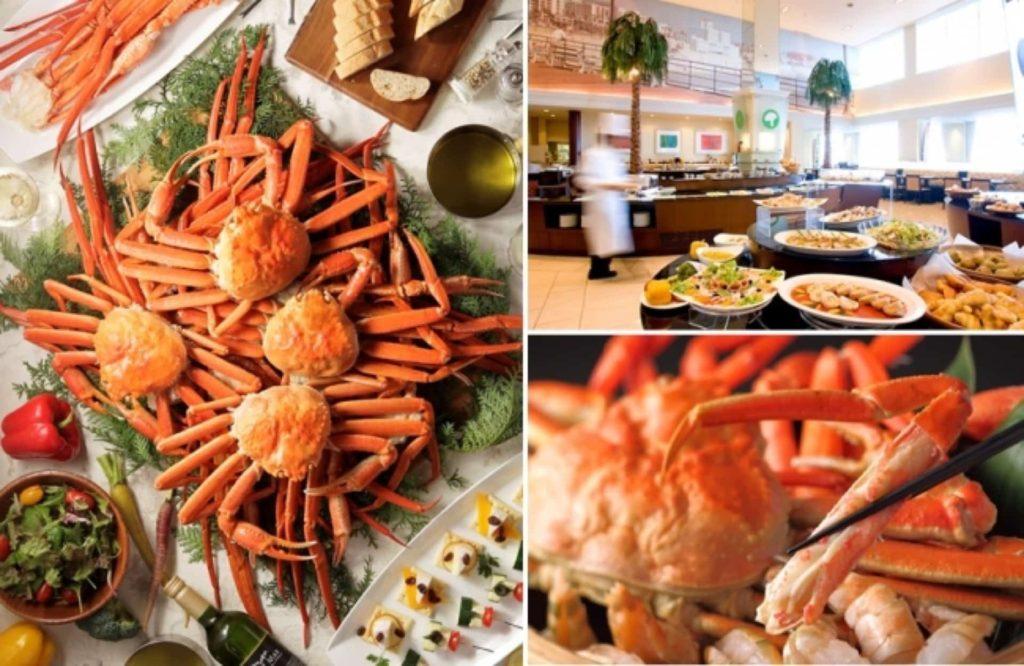 神戸メリケンパークオリエンタルホテル サンタモニカの風 カニ 蟹 かに食べ放題 バイキング ビュッフェ ブッフェ 2019 開催期間 いつ 1月 2月
