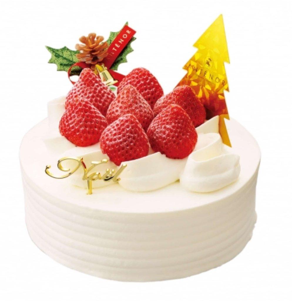 アンテノール 2018 クリスマスケーキ ブッシュドノエル ブッシュ・ド・ノエル 予約 ショートケーキ チョコレート