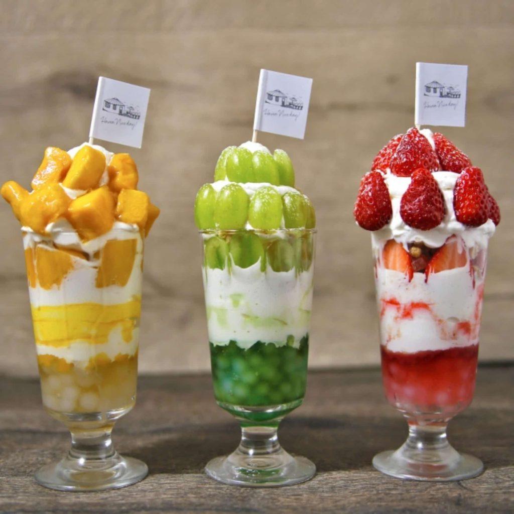 YURT 神戸店 ユルト 三宮 カフェ スイーツ 2019 5月 15日 タピオカ ボンボン パフェ フルーツ