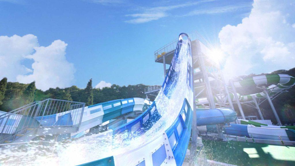 ネスタリゾート 神戸 2019 プール 水のジェットコースター ウォーターフォート