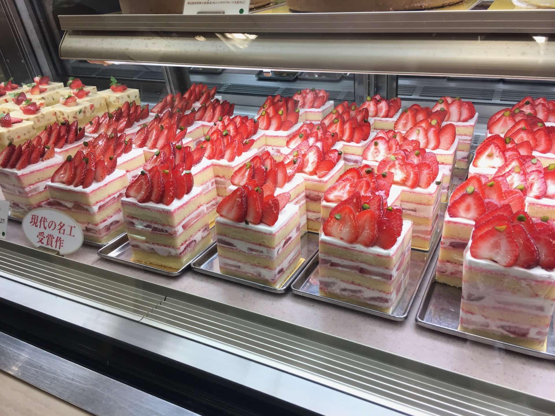 三宮の「御影高杉 そごう神戸店」が9月末で閉店。ショートケーキは味わっておきたい